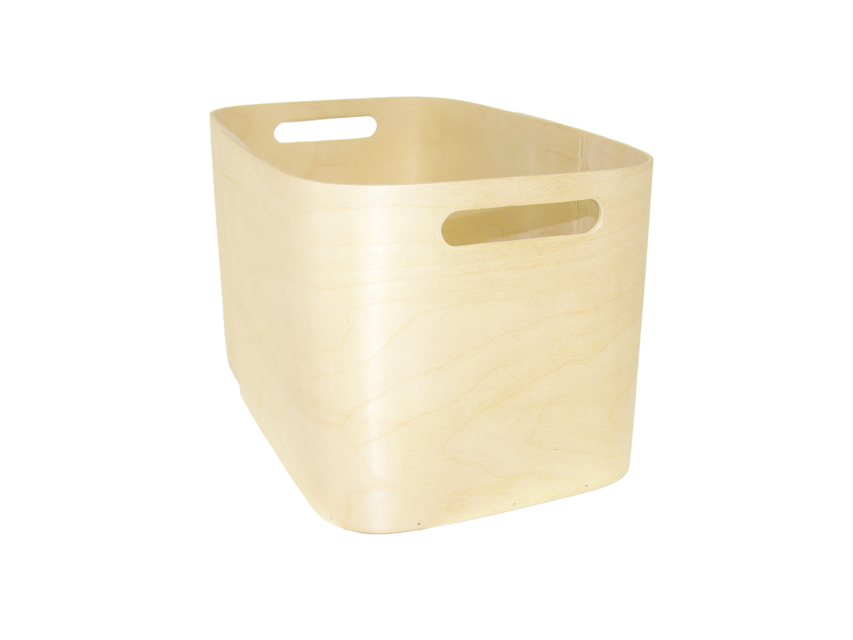 Plywood storage box S
