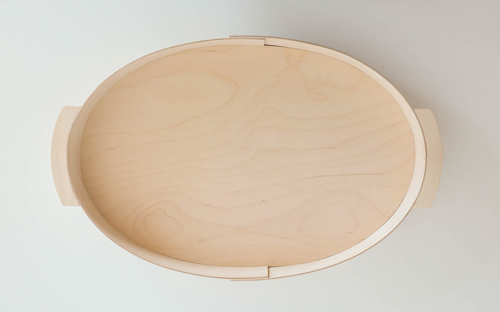 Plywood tray