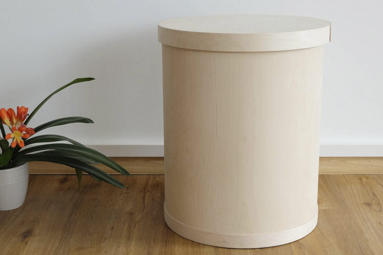 Plywood barrel