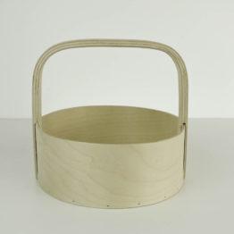 plywood basket
