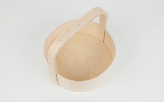 plywood basket